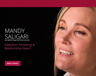 Mandy Saligari – digital branding and website